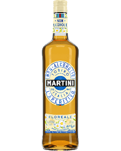 Martini Floreale sem álcool