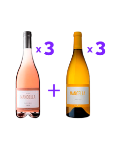 Pack Manoella (3x Rosé + 3x Branco)