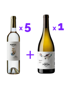 Pack Quinta do Portal Branco (5x Colheita + 1x Grande Reserva)
