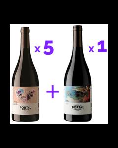 Pack Quinta do Portal Tinto (5x Colheita + 1x Reserva)